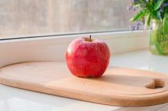 Czerwony jabłko Zdjęcia Stock