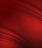czerwony jedwab Obrazy Stock
