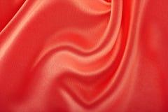 Czerwony jedwab Obrazy Royalty Free