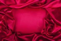 Czerwony jedwab Obraz Stock