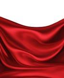 Czerwony jedwab ilustracja wektor