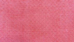 Czerwony jedwab dla tła i tkaniny tekstury fotografia royalty free