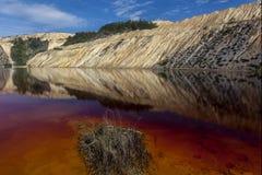 Czerwony jezioro 02 Obrazy Royalty Free