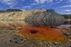 Czerwony jezioro 03 Zdjęcia Stock