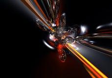 czerwony kabel 01 żółty Obrazy Stock