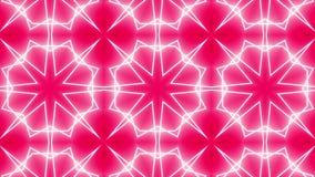 Czerwony kalejdoskopu tło zbiory wideo
