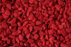czerwony kamienie Obraz Stock