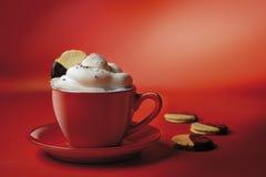 czerwony kawowa Obrazy Stock