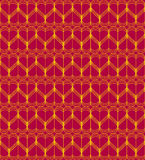 Czerwony kierowy bezszwowy wzoru drutu wektor Obraz Royalty Free