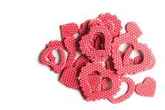 Czerwony kierowy kształt odizolowywający Zdjęcie Royalty Free