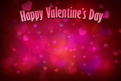 Czerwony kierowy tło dla valentines dnia obrazy royalty free