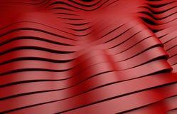 Czerwony klingeryt paskuje tło Fotografia Stock