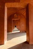 Czerwony korytarz Fotografia Stock