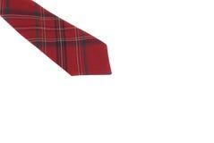 czerwony krawat Obraz Royalty Free