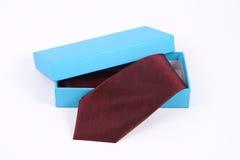 Czerwony krawat Fotografia Royalty Free