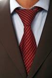 czerwony krawat Obrazy Royalty Free