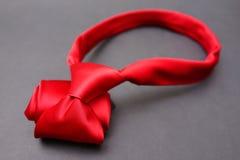 Czerwony krawat Zdjęcia Stock