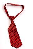 czerwony krawat Fotografia Stock
