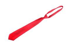czerwony krawat Zdjęcie Royalty Free