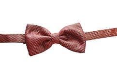 czerwony krawat bow Fotografia Royalty Free