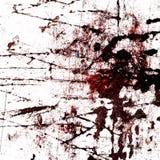 Czerwony krwionośny splatter fotografia royalty free