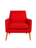 Czerwony krzesło zdjęcia stock