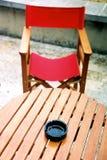 czerwony krzesło Zdjęcie Royalty Free