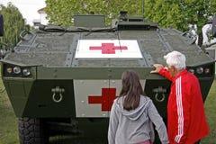 Czerwony Krzyż Fotografia Royalty Free