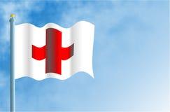 czerwony krzyżowa Obraz Royalty Free