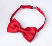 czerwony łęku krawat Zdjęcia Stock