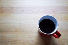 czerwony kubek do kawy Obraz Stock