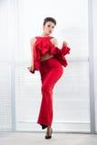 Czerwony kuszenie Fotografia Stock