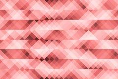 Czerwony lampas geometrii abstrakta tło Zdjęcia Royalty Free