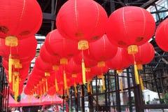 Czerwony lampion świętowanie obrazy royalty free