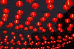 Czerwony lampion świętowanie obrazy stock