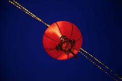 Czerwony lampion zdjęcia royalty free