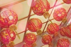 Czerwony lampion Fotografia Stock