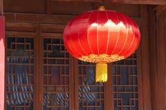 Czerwony lampion Obrazy Royalty Free