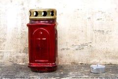 Czerwony lampion Zdjęcia Stock