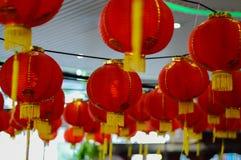 Czerwony lampion na okazi Zdjęcie Stock