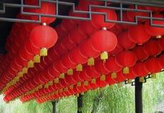 czerwony latarniowa Obraz Royalty Free