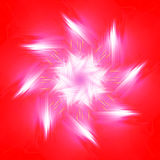 Czerwony lato wzór Obraz Stock