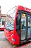 Czerwony Londyński autobus Zdjęcia Royalty Free