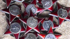 Czerwony lub Radziecki wojsko rozkaz Red Star zbiory wideo