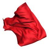Czerwony luksusowy latający jedwabniczy płótno elementy projektu podobieństwo ilustracyjny wektora royalty ilustracja