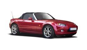 Czerwony Mazda MX5 zdjęcia royalty free