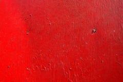 Czerwony metal tekstury tło obrazy royalty free