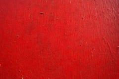 Czerwony metal tekstury tło Obrazy Stock