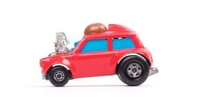 czerwony metal zabawki samochód zdjęcie stock