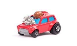 czerwony metal zabawki samochód zdjęcie royalty free